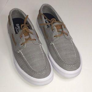 Sperry Bahama Ii Baja Grey Boat Shoes